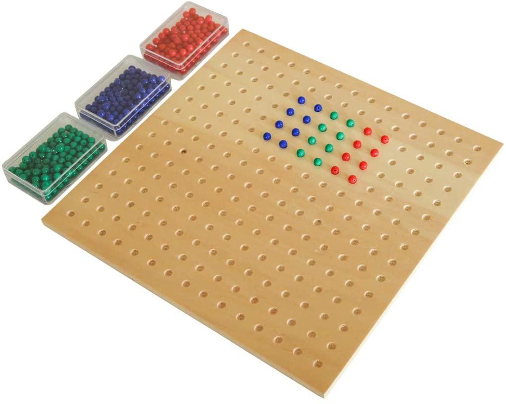 Montessori Square Root Board Flow To Learn